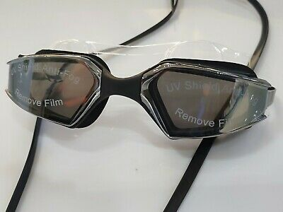 Anti Fog Mirrored Swimming Goggles Unisex triathlon Aqua UV Protect Glasses