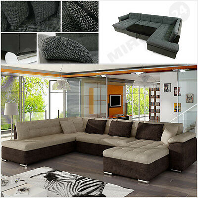 gro e ecksofa modern eckcouch wohnlandschaft sofa couchgarnitur nina lux couch eur 935 00. Black Bedroom Furniture Sets. Home Design Ideas