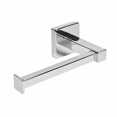 Chrome Bathroom Accessories Set Square. Modern Concealed Fittings.