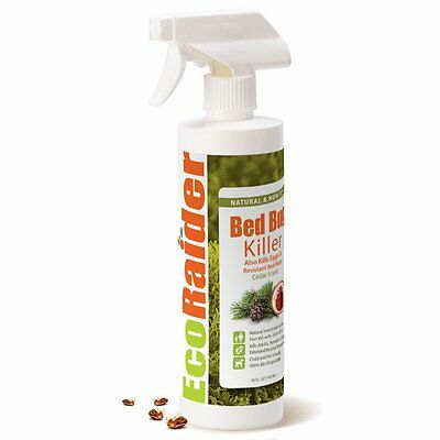 Bed Bug Killer by EcoRaider, 100% Fast Kill and Extended Protection Bottle(s)
