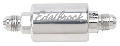 Edelbrock 8129 Polished Aluminium Fuel Filter