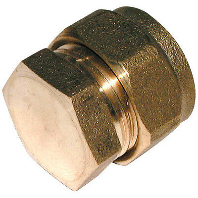 Compression Stop End Brass Fitting - Plumbing Fittings High Quality Size