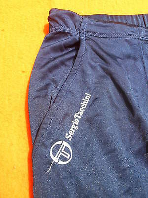 SERGIO TACCHINI Track Pants Pantalon Training Made in Italy True Vintage Tennis