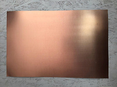 """18""""x12"""" Double Sided Copper Clad PCB Circuit Board Mil-Spec .01, 1 oz"""