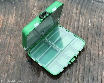 Multi Compartment Hinged Bushcraft/survival Kit Storage Box Fishing