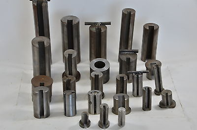Lot of (25) Broach Cutting Bushing Keyway Dumont, & Others