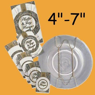 """Adjustable Plate Wall Hanger Adapter for 4-7"""" Plates"""