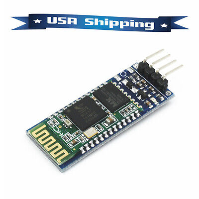 Slave HC-06 RS232 Serial Wireless Bluetooth Module RF Transeiver MCU for Arduino