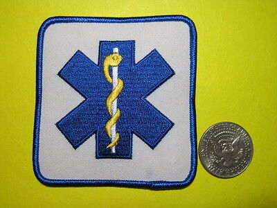 Star Of Life First Responder Emt Paramedic Medic Patch Look And Buy Now!