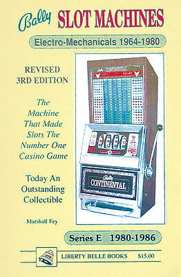 bally Slot Machines to the 285 Most Popular Electro-Mechanical & Series E Models