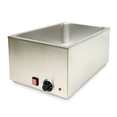 Thunder Group Stainless Steel Food Warmer, Brushed Finish SEJ80000C FOOD WARMER