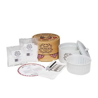 NEW Mad Millie Fromage Homemade Cheese Starter Kit