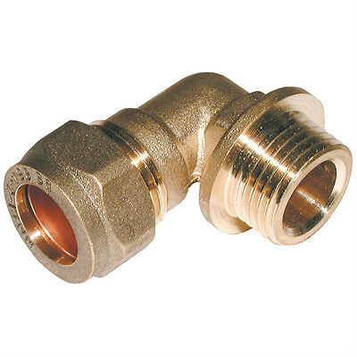 BSP Parallel Male x Metric Elbow Compression Plumbing Fittings Quality