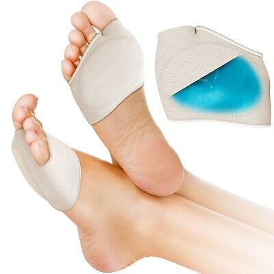 Medipaq® Metatarsal Gel Cushion - Soothe Ball of Foot Pain Sore Feet Relief Pad