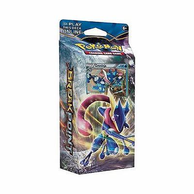 Pokemon Xy Break-Point - Wave Slasher (Greninja) Theme Deck - 60 Trading Cards