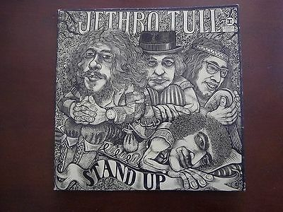 """JETHRO TULL """"Stand Up"""" LP  1969 REPRISE  RS-6360 POP-UP VG"""