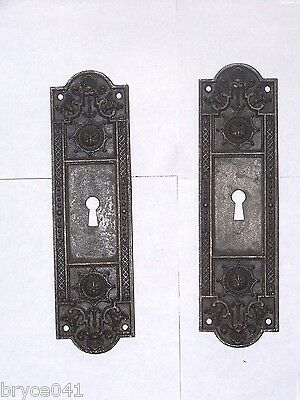 Antique Pocket Door Pulls stamped 5275 & 5355