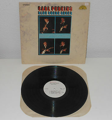 CARL PERKINS Blue Suede Shoes 1969 LP Original USA Sun 112 Rockabilly