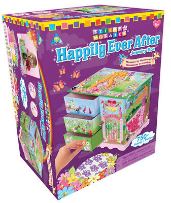 Orb Factory 63993 - Sticky Mosaics - Schmuckkästchen Happily Ever After