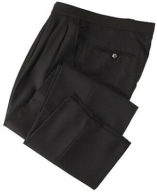 Smitty Women's Comfort Tech Pleated 100% Dacron Polyester Pants - Size 6