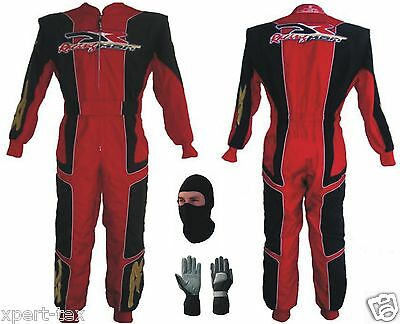 New Racing  Go Kart Race Suit CIK/FIA Level 2 with free gifts