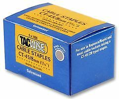 Tacwise Plc 0351 Staples, Cable 45/8mm, (pk 5,000)