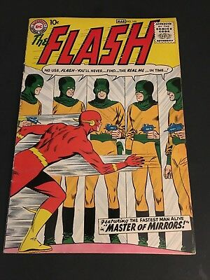 The Flash #105   8.0 Vf   1St App Silver-Age Flash In Title    Dc Comics 1959
