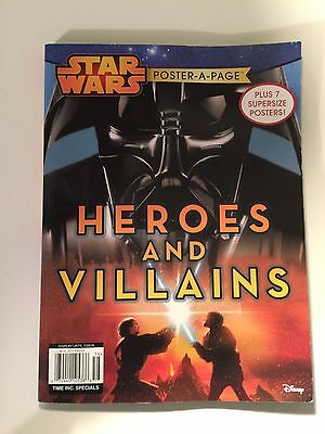 Star Wars Poster Book Heroes And Villains