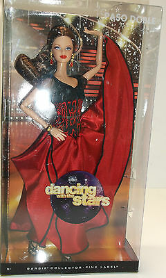 Dancing With The Stars Paso Doble Barbie Collector Doll PINK LABEL NIB NRFB