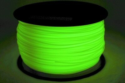 3D Printer Filament - Glow in the Dark -Different Colours -1.75mm PLA & ABS Cuts