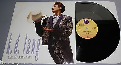 "K.D. Lang - Our Day Will Come UK 1988 Sire 12"" Single"