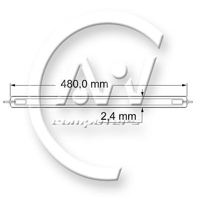"22""W - 480mm - CCFL backlight lamp for LCD monitor - High Quality !! - QTY 2"