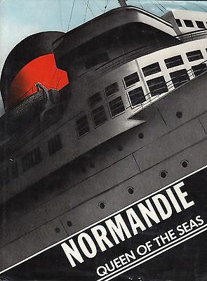 """""""NORMANDIE: Queen of the Seas"""" - Excellent Condition - NAUTIQUES sHiPs WORLDWIDE"""