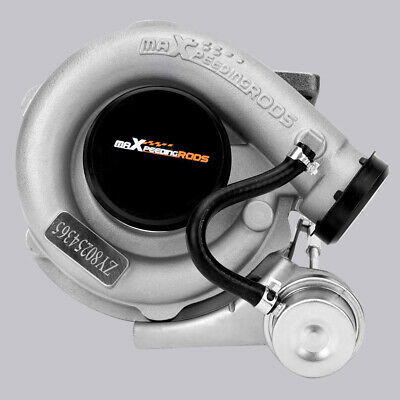 T3 T4 Universal Turbo Turbocharger 0.63A/R V Band Flange Oil Cold 420HP 2.0-3.5L