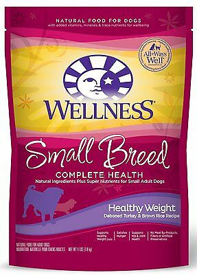 Wellness Complete Health Natural Dry Small Breed Dog Food model number:89118 AOI