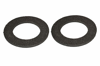 Central Heating Pump Valve Rubber Washers (2 Pack)