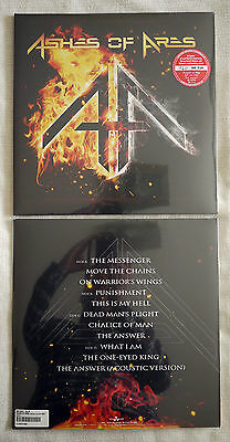 """Ashes of ares """"Ashes of ares"""" 2 LP red vinyl NEW sealed"""