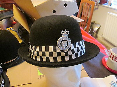 Police Wpc Hard Bowler Badged Cheshire