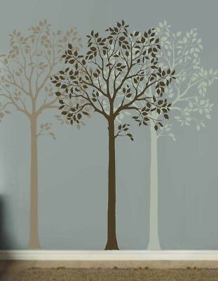 Large Fruit Tree Stencil - Easy Reusable Wall Stencils for DIY Wall Decoration