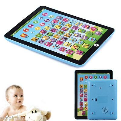Hot Kids Children English Learning Pad Toy Educational Computer Tablet Teach Toy