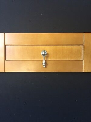 Satin Nickel Decorative Cabinet / Drawer Pull Handles
