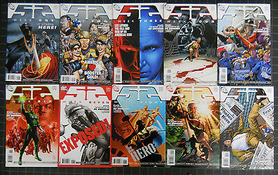 "D.c. ""52"" 2006 All 52 Books Nm,this Series Deals With The Heroes Origins+Deaths"