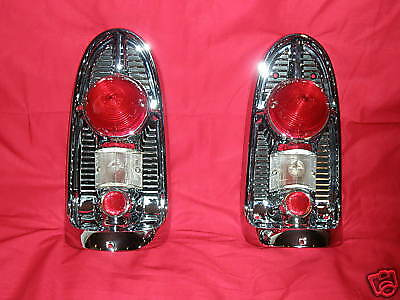 1956 Chevy 150/210/B/A Nomad Convertible Taillight Assys. New!