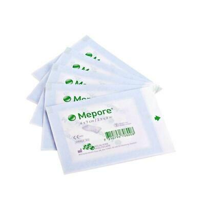 MEPORE ADHESIVE FABRIC DRESSING QUALITY MOLNLYCKE BRAND 6 x 7 CM 10PIECES