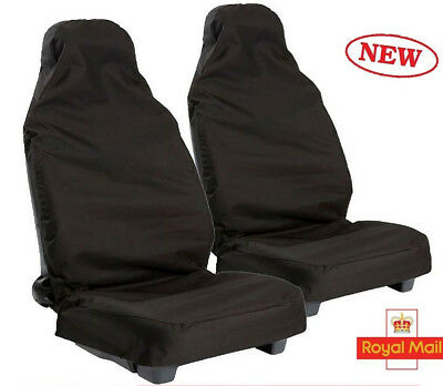 Universal Waterproof Pair of Front Seat Cover Protector Car Van Nylon Heavy Duty