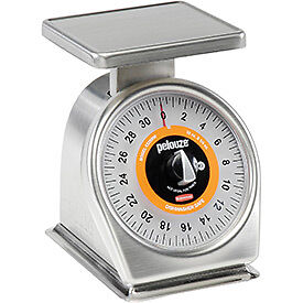 Dial Portion Control Scale Stainless Steel With Rotating Dial 2lb X 0.25 Oz