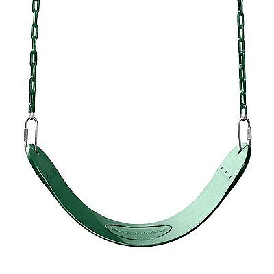 Swing-N-Slide Green Swing Seat Weight limit of 115 pounds NEW BRAND XTS