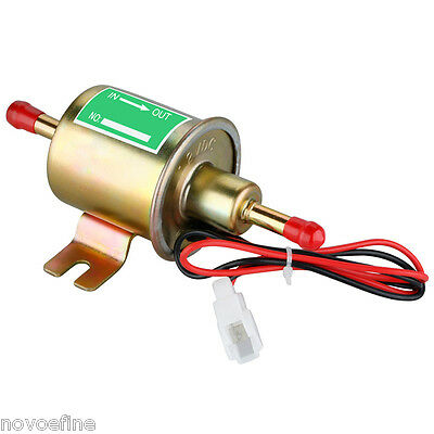Electric Fuel Pump HEP-02A 12V Bolt Fixing Wire Diesel Petrol for Toyota Nissan