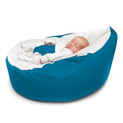 GaGa Luxury Cuddle Soft Baby Bean Bag in Teal Colour | For Babies 6 Months+