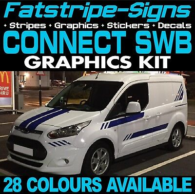 Ford Transit Connect Swb Graphics Stickers Stripes Decals Van St M Sport
